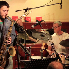 Skytrain - EPK - Live at Cafe Central (Madrid, 2014).