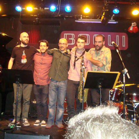 Daniel Juárez 5tet - Bogui Jazz Club (2015).