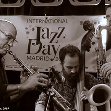 With Dave Liebman - Bogui Jazz Club, 2019