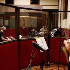 "Daniel Juárez - ""Caminos"" recording. Mecca Recording Studio - 2014"