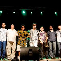 Miguel Blanco & La Calle Caliente (Navalmoral de la Mata Jazz Festival - 2015)