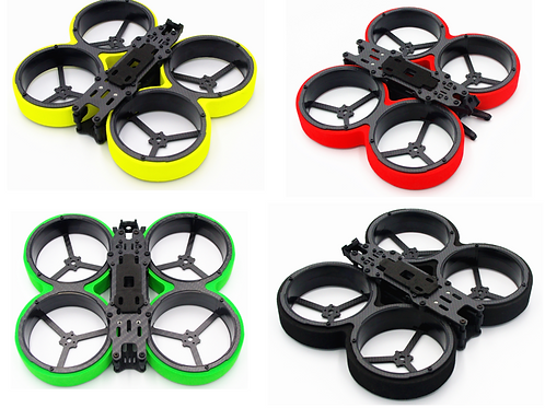 "Reptile Metal Beetle 3"" Cinewhoop Frame Kit"