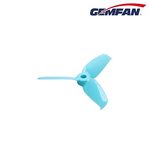 Gemfan 3052 3 blade propeller - Blue