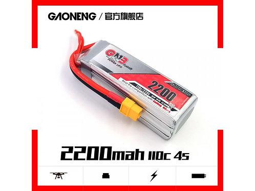 Gaoneng GNB 14.8v 2200mAh 110C 4s Lipo XT60