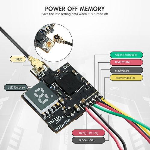 Eachine VTX03S 0/25/50/100/200mw 40CH 5.8G FPV Transmitter W/ PITmode Smartaudio