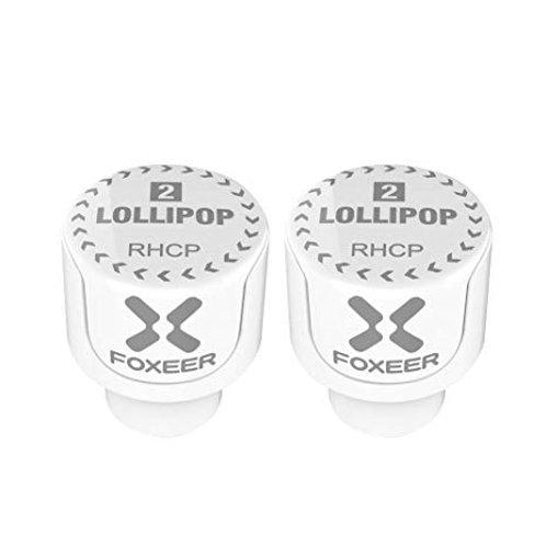 Foxeer Lollipop 2 Stubby RHCP SMA White