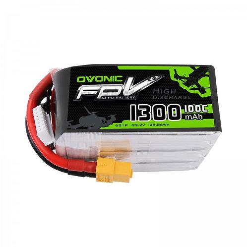 Ovonic 6s 1300mah 100c Lipo Battery
