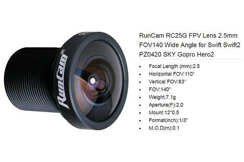RunCam RC25G FPV Lens 2.5mm