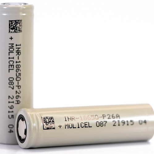 Molicel 18650 Battery (Pair)
