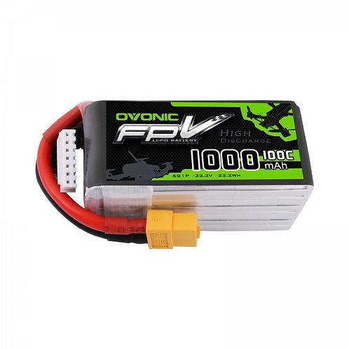 Ovonic 6s 1000mah 100c Lipo Battery