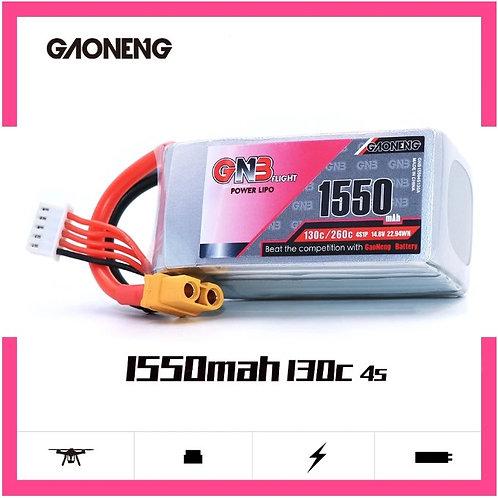 GNB 4S 1550MAH 14.8V 130C XT60 LiPo Battery