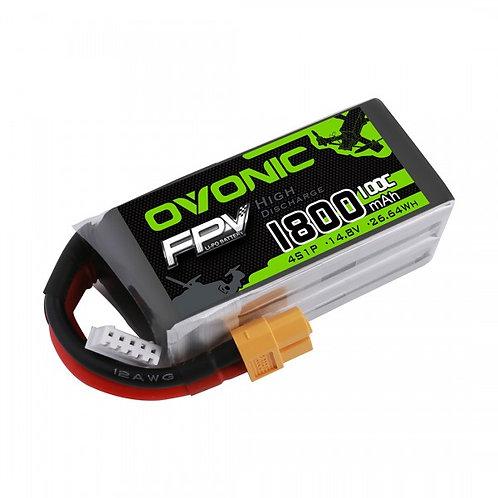 Ovonic 4s 1800mah 100c Lipo Battery