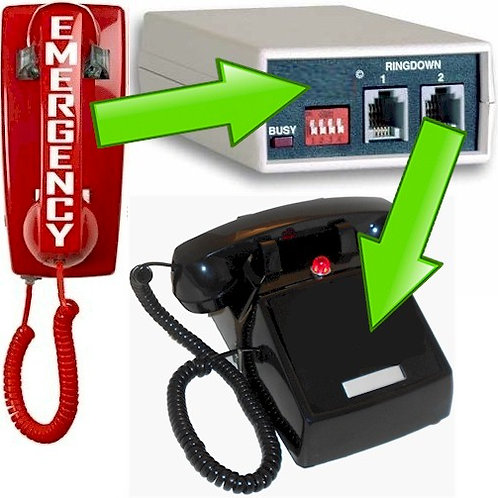 Ringdown Circuit provides instant Hotline intercom between 2 phones. FREE SHIP