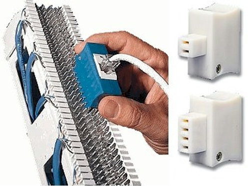 Jack2Block test adapters for easy testing and temporary connections. FREE SHIP