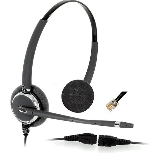 2032 wideband binaural headset with direct connect cord. FREE SHIP