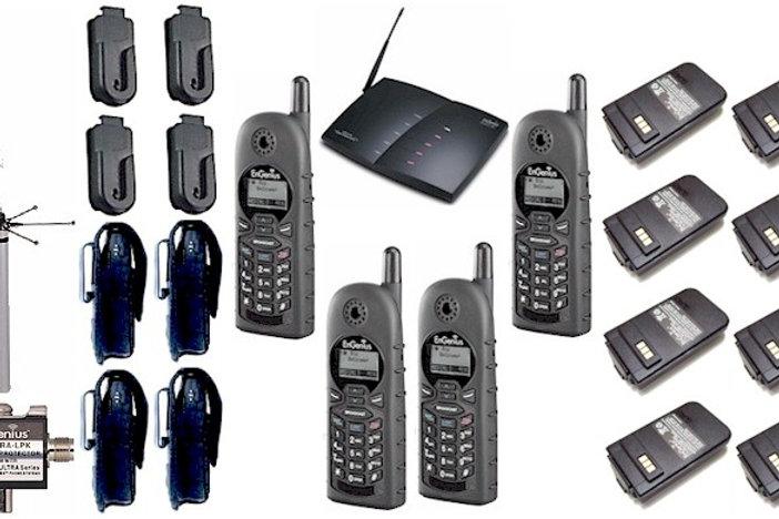 Engenius Durafon 4 Line Pkg 4 Handsets 8 Batteries 4