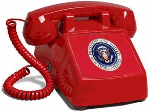 """Passive"" Presidential Hotline phone. FREE SHIP"