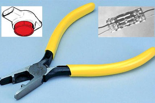 SpliceCrimper connector crimper & wire cutter. FREE SHIP