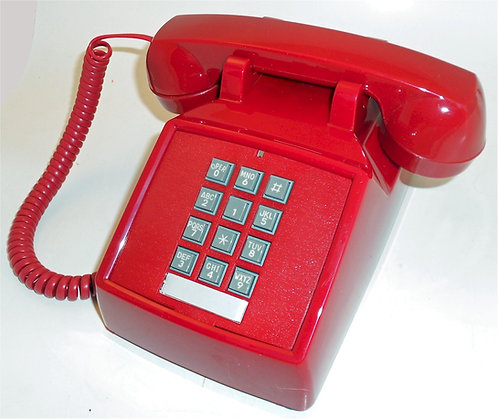 WACKY PHONE looks wacky but works normally. Ours alone. FREE SHIP.