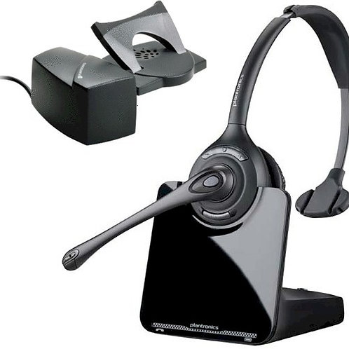 NEW Plantronics CS510 monaural DECT 6.0 wireless headset with lifter. FREE SHIP