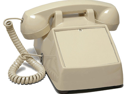 No-dial desk phone. 3 Colors. FREE SHIP