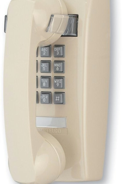 Wall phone with MESSAGE WAITING light. Two colors. FREE SHIP