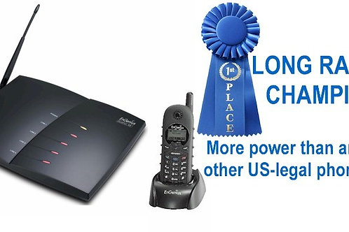 EnGenius DuraFon PRO industrial-strength ultra-long-range 4-line cordless phone