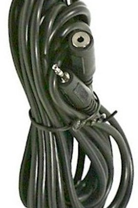 3-Ft extension cable for headsets with 2.5mm plugs. FREE SHIPPING in the USA.