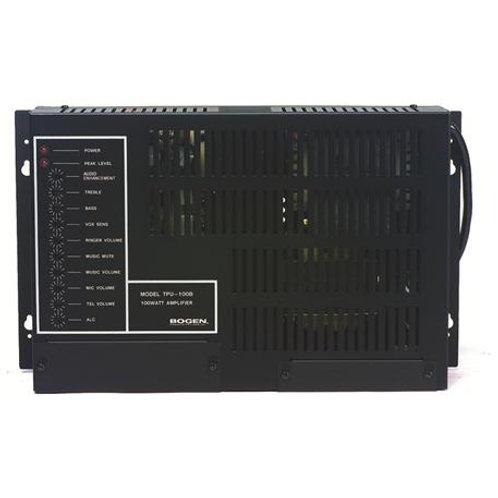 35-Watt wall-mountable paging amplifier. FREE SHIP