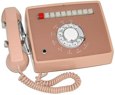 9-line rotary desk phone. New Old Stock. FREE SHIP.