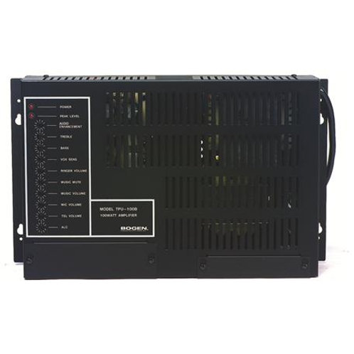 100-Watt wall-mountable paging amplifier. FREE SHIP