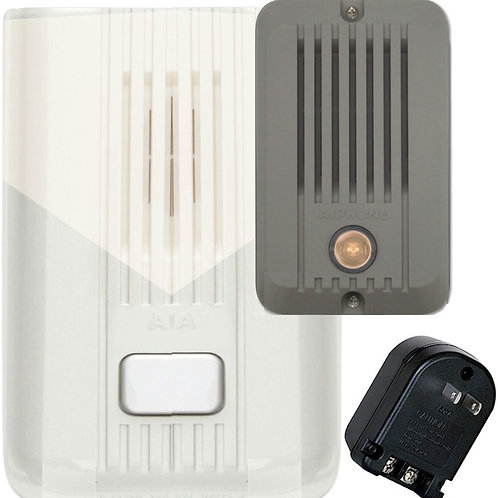 Expandable door chime/intercom. Includes power transformer. FREE SHIP