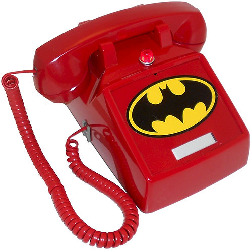 "NEW ITEM. ""Passive"" Batphone 2 with flashing light and Bat Symbol. FREE SHIP"