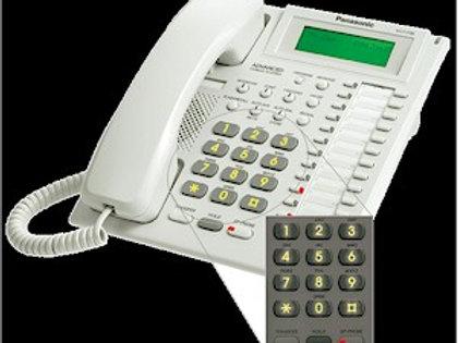 Panasonic KX-T7736 24-button speakerphone w. 3-line display. FREE SHIPPING