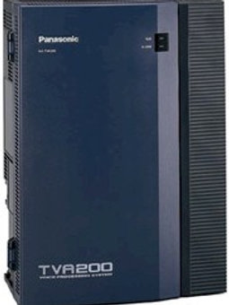 Panasonic KX-TVA200 voice processor for 4 to 24 ports, 1000 hours recording time