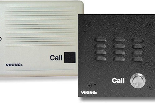 Universal door intercoms work with any analog phone or system. FREE SHIP