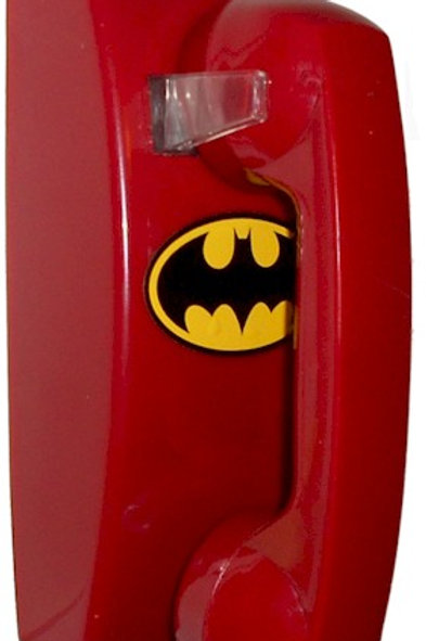 "NEW for 21st century ""Passive"" Bright red Batphone for wall-mounting. FREE SHIP"
