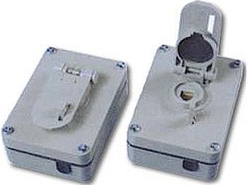 Lockable outdoor weatherproof jack for up to three wire pairs. FREE SHIP