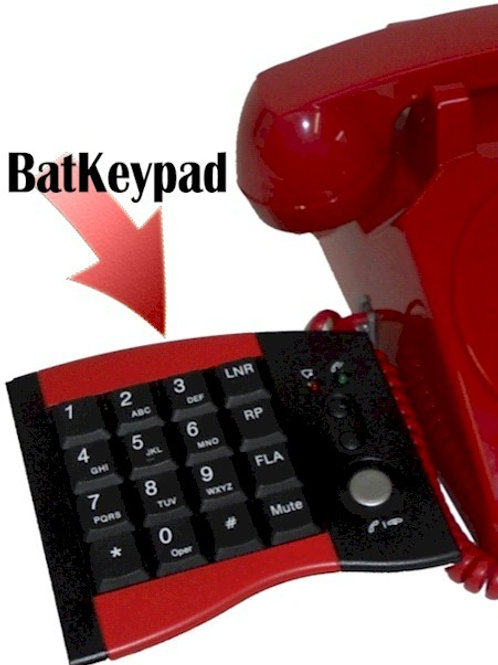 Accessory Keypad allows calls to be dialed. FREE SHIP