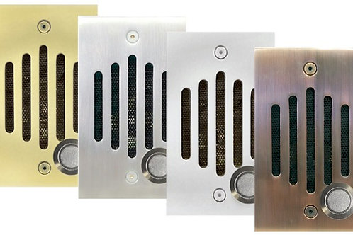 Solid brass VIDEO intercom speakers for Panasonic systems. 8 Colors. FREE SHIP