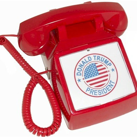 """Passive"" Donald Trump Hotline phone. FREE SHIP"