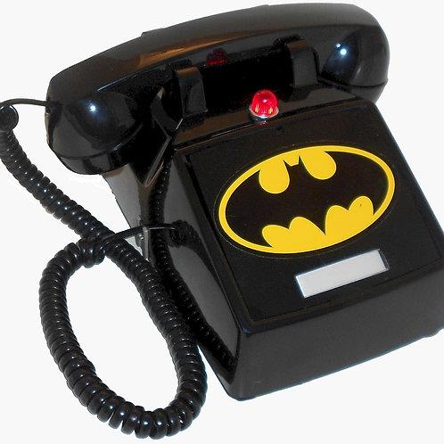 "NEW ITEM. ""Passive"" Batphone 2 with flashing light and Bat Symbol. FREE SHIP"