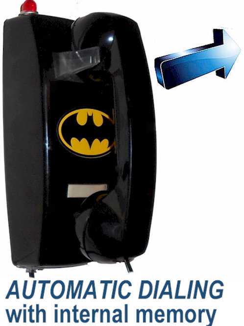 Auto-Dial BatPhone calls number you program. Light flashes with ring. FREE SHIP