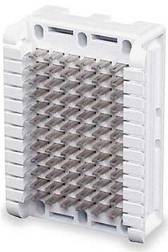 Quarter-size 66B block handles 6 pairs, 6 columns across. FREE SHIP