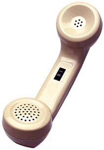 "NEW ""G"" handset with volume control.Modular connection. FREE SHIP."