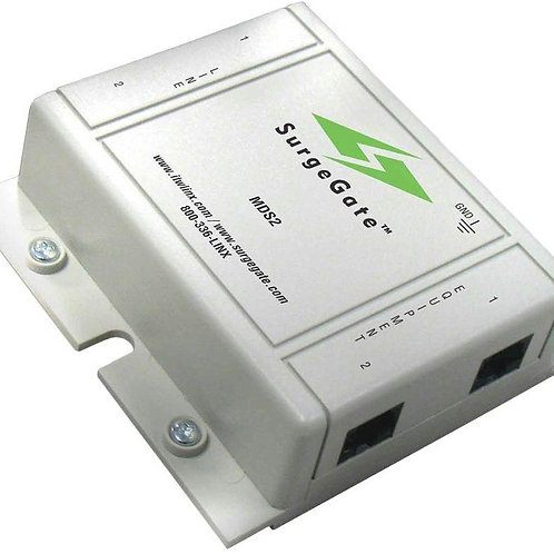 Surge protector for digital phones, used for wiring between buildings. FREE SHIP