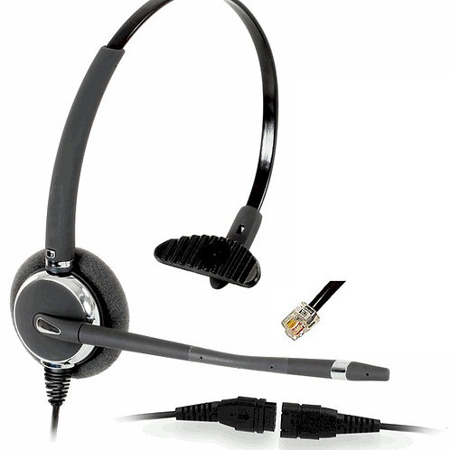 2031 wideband monaural headset with direct connect cord. FREE SHIP