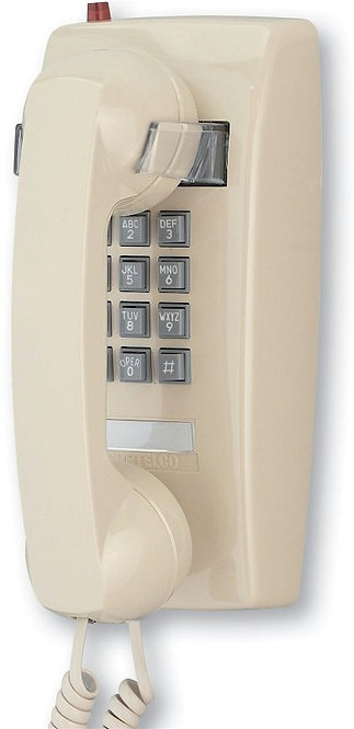 Wall phone with MESSAGE WAITING light. Two colors. FREE SHIP.