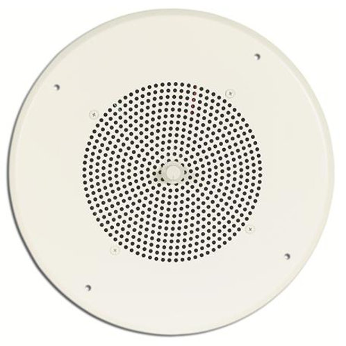 Ceiling-mount paging speaker with easy-accvess volume control. FREE SHIP