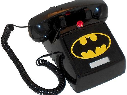 """Passive"" NEW design. BatPhone 2 with flashing light and Bat Symbol. FREE SHIP"